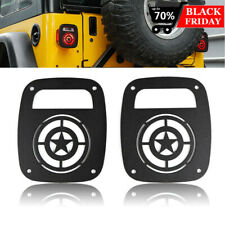 Tail Lamp Covers Rear Light Guards For Jeep Wrangler Tj 1997 2006 Accessories Fits Jeep