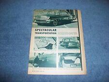 "1953 Ford Victoria Vintage Custom Led Sled Article ""Spectacular Transportation"""