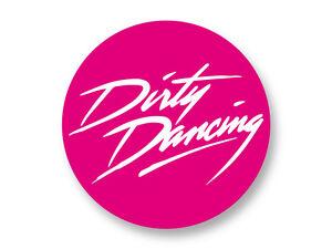 Porte clé Keychain Ø45mm Dirty Dancing The Best 80/'s Movies Film Cinema