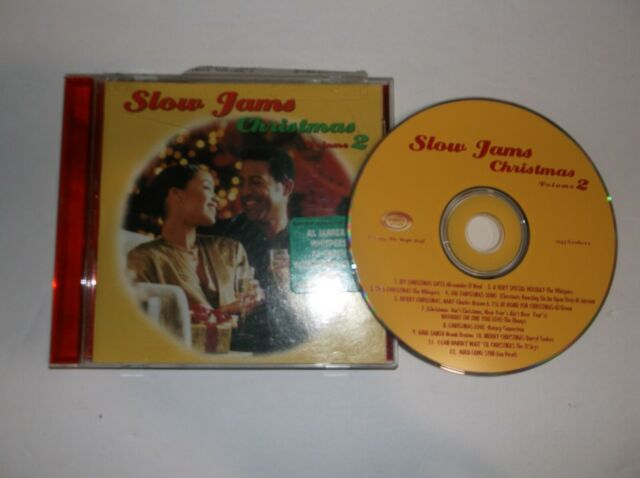 Slow Jams Christmas Vol. 2 (CD, 1997, The Right Stuff) The