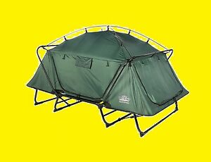 Image is loading K&Rite-Double-TentCot-C&ing-Outdoor-Hiking-Tents -Rainfly-  sc 1 st  eBay & KampRite Double TentCot Camping Outdoor Hiking Tents Rainfly Fully ...