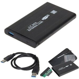 iB/àste Caja de Disco Duro de 2,5 Pulgadas USB3.0 SATA3.0 Caja de Disco Duro Caja de Disco Duro Externo Compatibilidad con Memoria ilimitada Disco Duro de HDD SDD Sin Herramientas