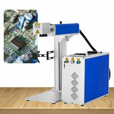 30w 15x15cm Fiber Laser Marking Machine F Logo Engraving Cutter Metal Non Metal
