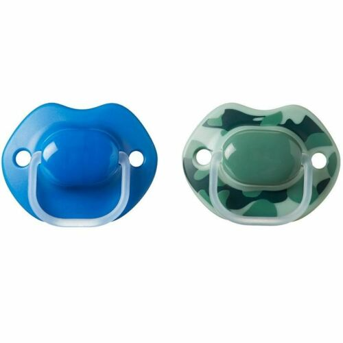Tommee Tippee Urban Style Soother 6-18 Months Blue Green