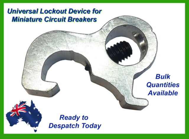 RCD MCB Circuit Breaker Lockout/ Lock Dog  Device For Most Circuit Boards