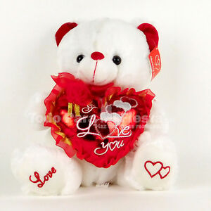 Happy Valentines Day Teddy Bear Valentines Gift Mothers Day Dia De