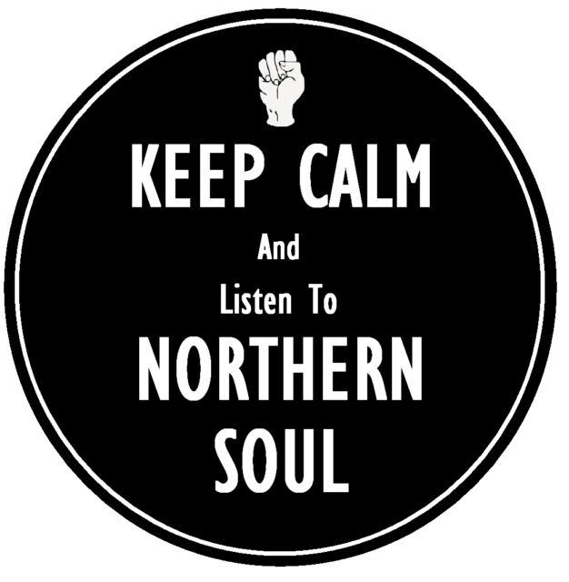 KEEP CALM  & LISTEN TO NORTHERN SOUL - FUN CAR TAX DISC HOLDER  ***REUSABLE***