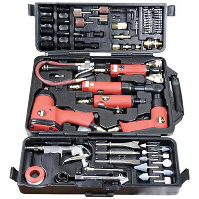 PRO 77 PIECE POWER AIR TOOL WRENCH KIT SET HEAVY DUTY
