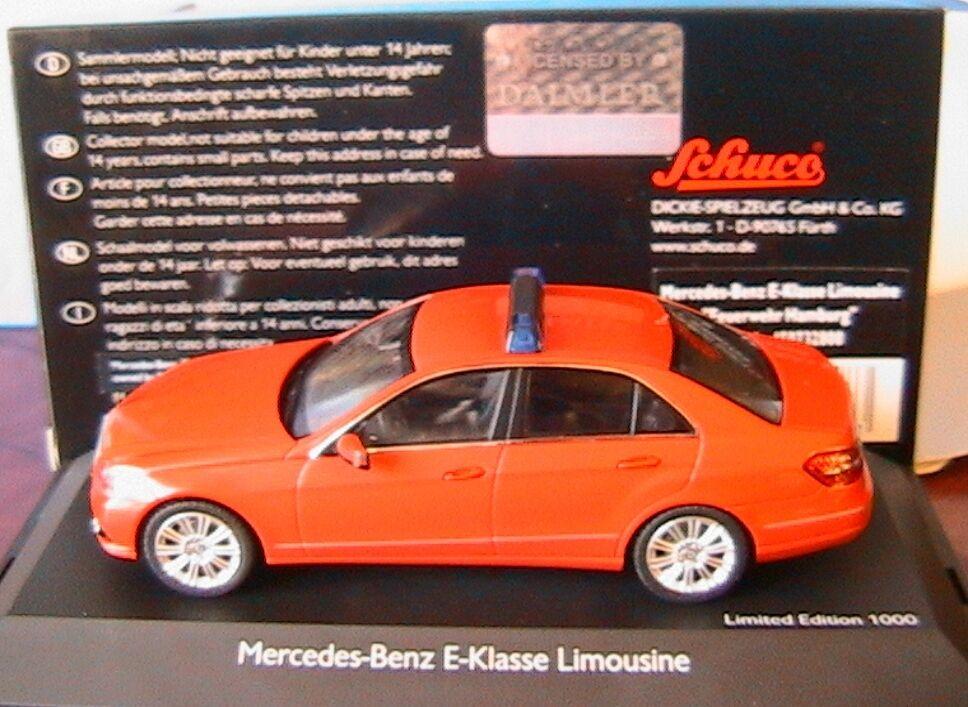 costo real Mercedes Benz E Klasse W212 Limusina Feuerwehr Hamburgo Schuco 07328 07328 07328 1 43  respuestas rápidas