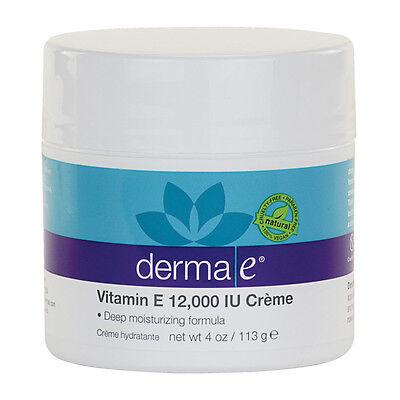 Derma E 12,000 I.U. Vitamin E Creme 4 Oz
