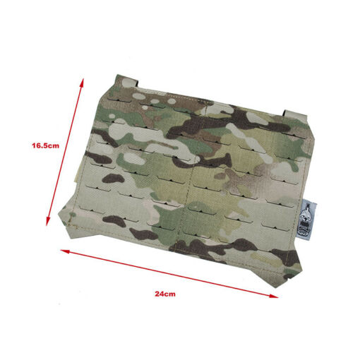 The Black Ships Lightweight Laser Cut Molle Front Panel Multicam TBS039-MC