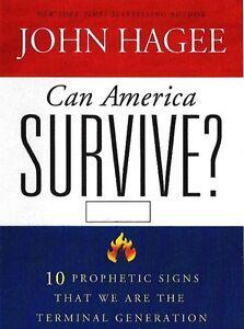 Can America Survivre Série De 10 Prophetic Signes - 3 Cds - John Hagee PréVenir Le Grisonnement Des Cheveux Et Aider à Conserver Le Teint