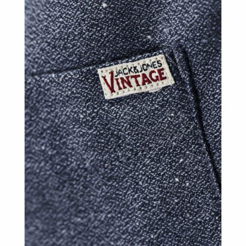 Cristan Jack /& Jones Vintage Mens Nap Yarn Shirt Indigo
