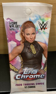 WWE Topps Chrome Value Pack Factory Sealed