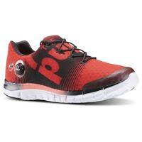 Reebok Zpump Fusion Mens Running Shoe Neon Cherry / Gravel / White V62782
