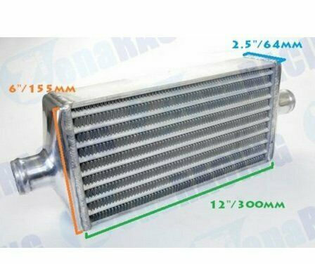 Compact Intercooler Core Fit Small Turbo Car FMIC Front Mount Tube Fin Type