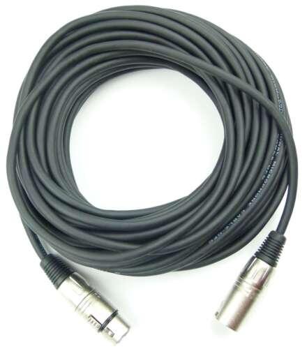 4x 15 m Mikrofonkabel 3 pol XLR DMX Adam Hall Mikrofon Kabel Neutrik kompatibel