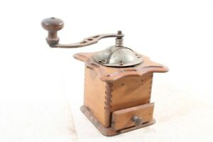 Beautiful-Old-Coffee-Mill-Decor-Mill-Old-Vintage-Wood-Collector-Coffee
