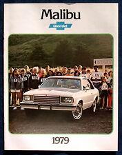 Prospekt brochure 1979 Chevrolet Chevy Malibu (USA)