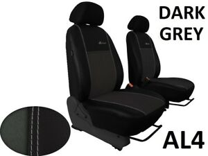Alicante on Eco-Leather Tailored Set Seat Covers For FORD RANGER Mk5  2012