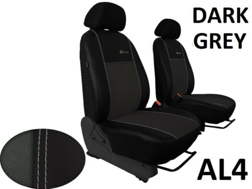 FORD RANGER MK5 2012-2018 ECO LEATHER ALICANTE FRONT SEAT COVERS MADE TO MEASURE