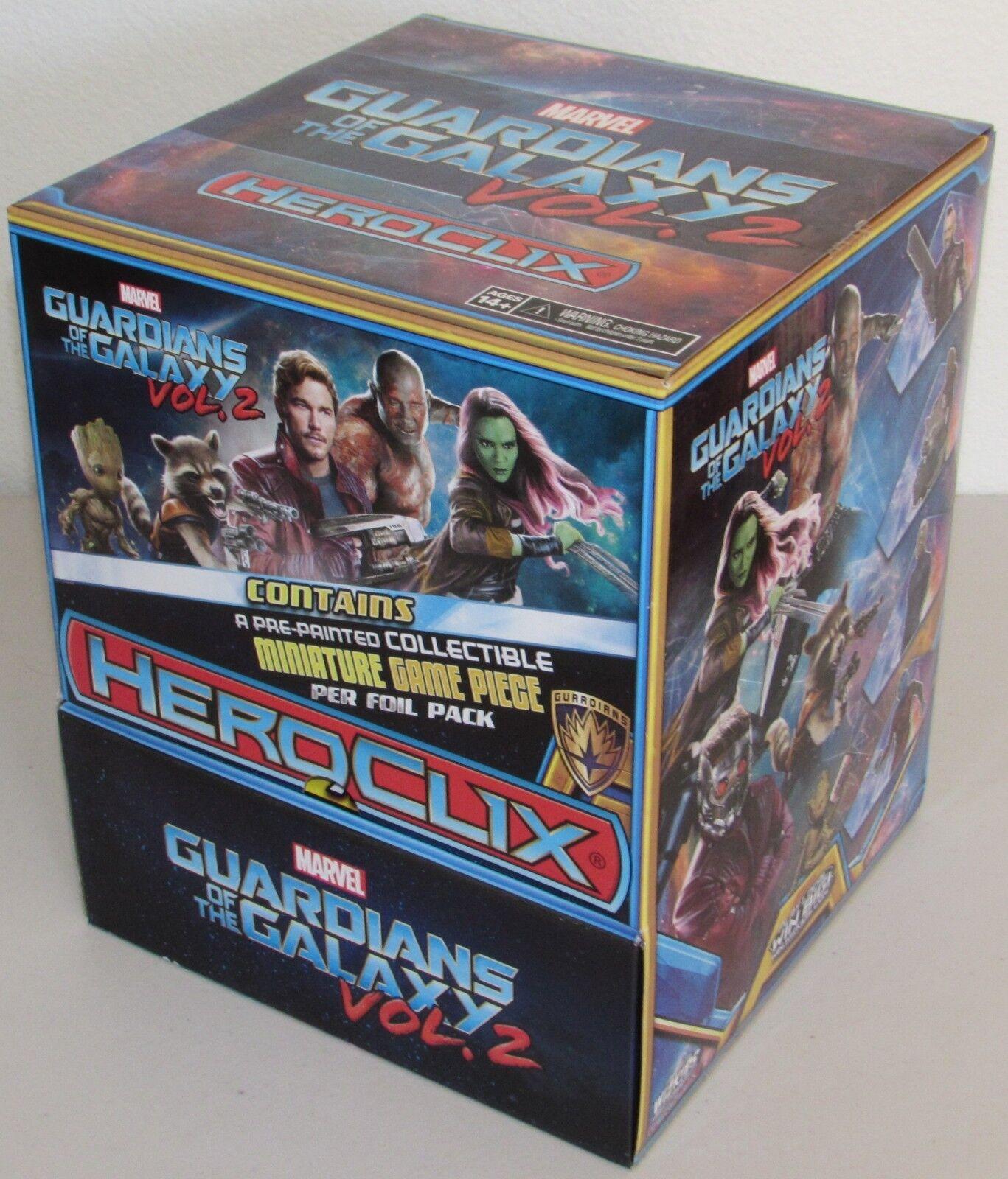 Guardiani Della Galassia Film Vol 2 Wizkids Heroclix Cibo Gravità Booster Box II