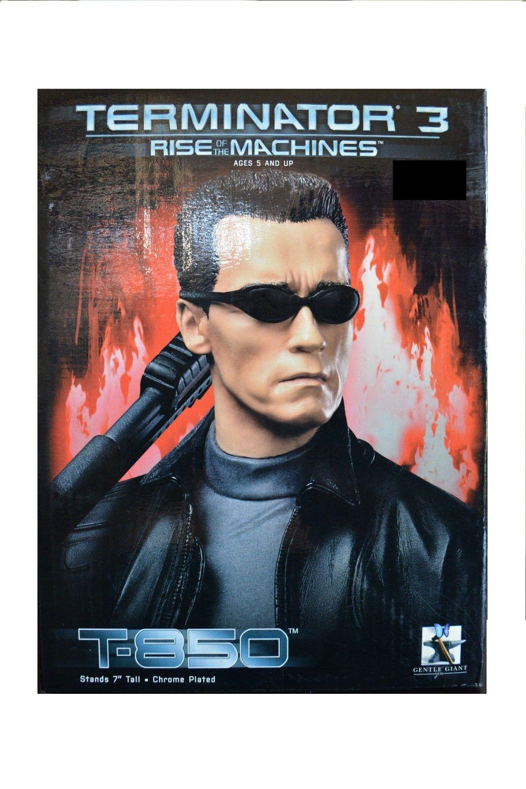 Gentle Giant - Terminator 3 - T-850 Bust 7