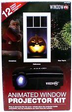 Window FX Projector Animated Window Display Kit Christmas Halloween New Years