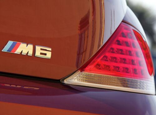Tapa Del Tronco Emblema Cromado Insignia con el logotipo signo E63//E64 Genuine BMW M6