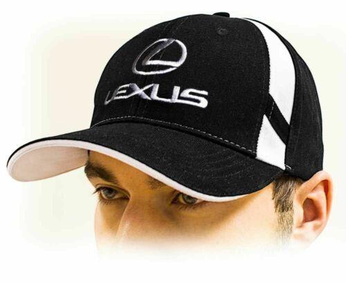 black Unisex Hat Lexus baseball Cap Adjustable size with embroidered logo!!!