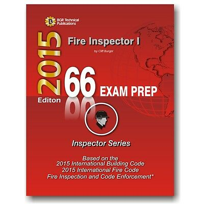 66 Fire Inspector I ICC Exam Practice Questions Test Workbook 2015 EBay
