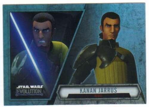2016 Topps Star Wars Evolution Trading Card #100 Kanan Jarrus Rebel