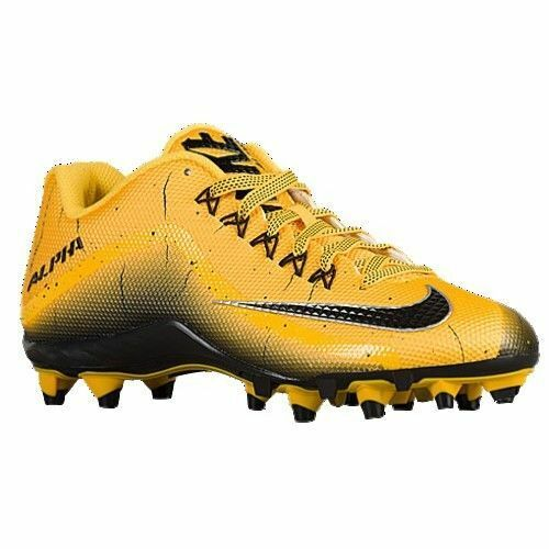 NIKE ALPHA PRO 2 TD Varsity Maize Football Cleats NikeSkin MENS 719925 700 NEW Wild casual shoes