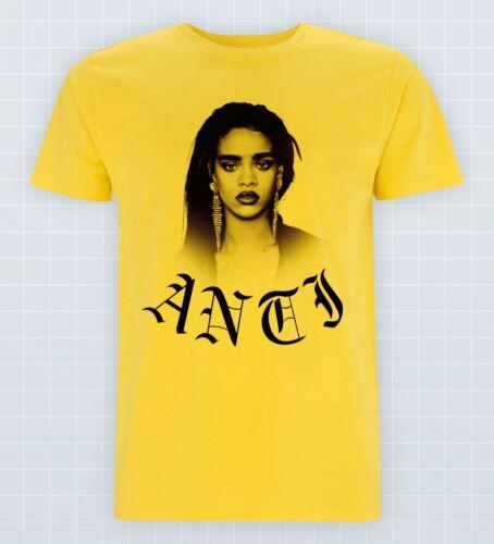 Anti T-shirt Savage Rihanna Hip Hop Bad Gal RiRi Swag Music Rude boy Tour Tee