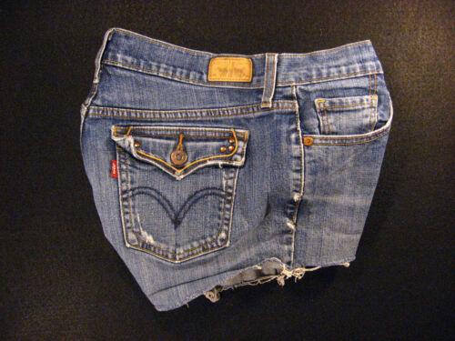 Red Levis Shorts Daisy Tab Dukes W Off 515 Denim Jean Cut Cutoff 29 zrwqnS4xzt