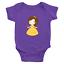 Infant-Baby-Rib-Bodysuit-Jumpsuit-Romper-Clothes-Beauty-amp-Beast-Princess-Belle thumbnail 6