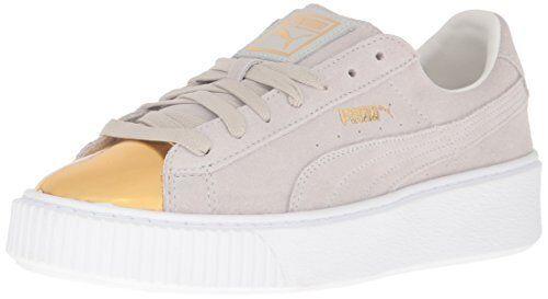 PUMA Womens Suede Platform gold gold gold Fashion Sneaker- Pick SZ color. 38c50f