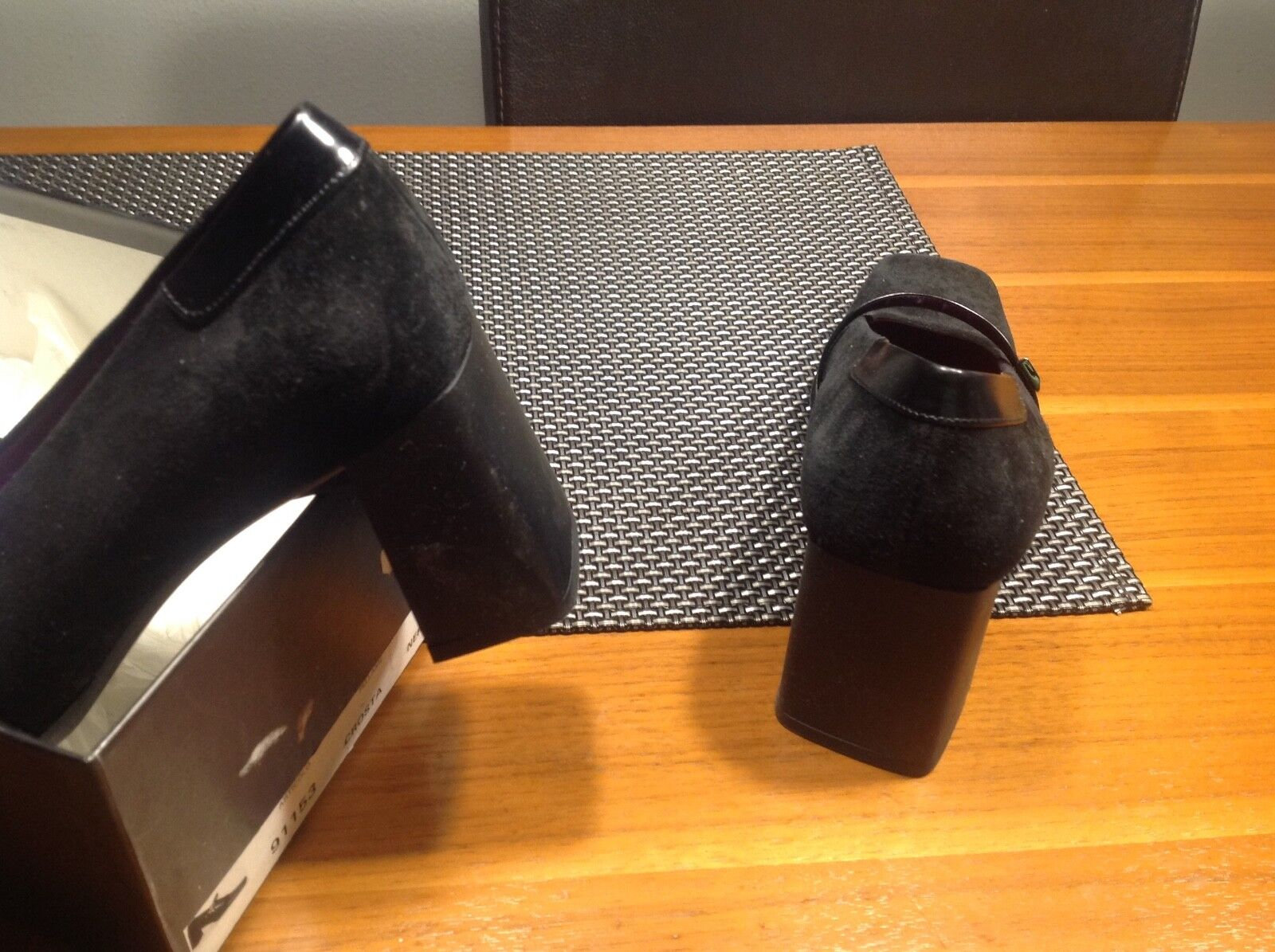 Bamar pums luxus aus italien neu vollleder vollleder vollleder 36,5 schwarz NP199 f8bca9