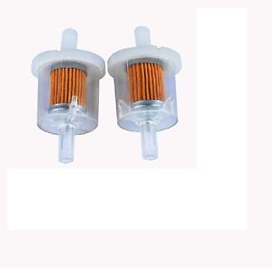 Fuel Filter Briggs /& Stratton 493629 691035 Fuel Filter Lawnmower 2 Pack