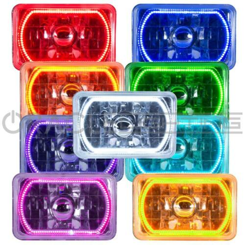 """ORACLE Pre-Installed ColorSHIFT Halo ORACLE 4/""""x6/"""" Sealed Beam Single Headlight"""