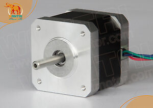 1PC-CNC-Nema17-1-2A-4500g-cm-Wantai-Stepper-Motor-3d-reprap-printer-42BYGH610P1