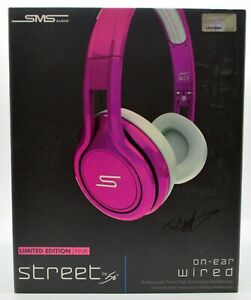 8259403cc96 SMS Audio STREET by 50 Cent On-Ear Pink Limited Edition Headphones ...