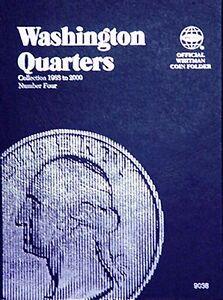 Whitman-Washington-Quarters-Coin-Folder-Book-4-1988-2000-9038