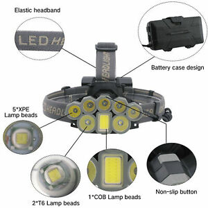 Lampe-de-poche-18600LM-T6-8x-LED-lampe-frontale-rechargeable-lampe-torche-18650