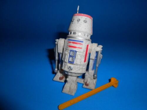 Star Wars 1996 Potf Vintage Style R5-D4 Tatooine Astromech Droid ~ Missile