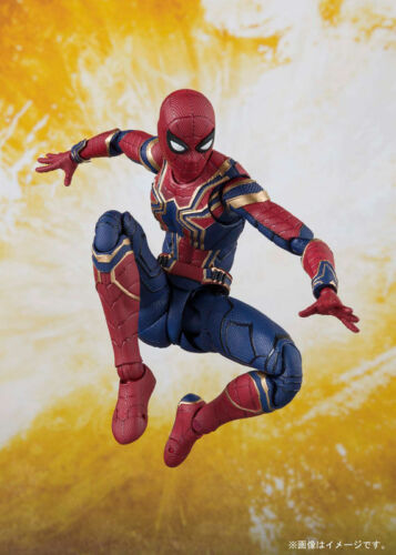 BANDAI MARVEL FIGUARTS AVENGERS INFINITY WORLD IRON SPIDER MAN /& TAMASHII STAGE.