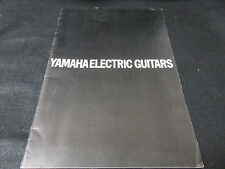 Yamaha Electric Guitars Japan Catalog in 1973 SG AE Models Bass Guitar