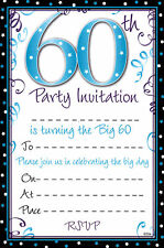 20 Birthday Party Invitation Sheets Choice Of Designs Including