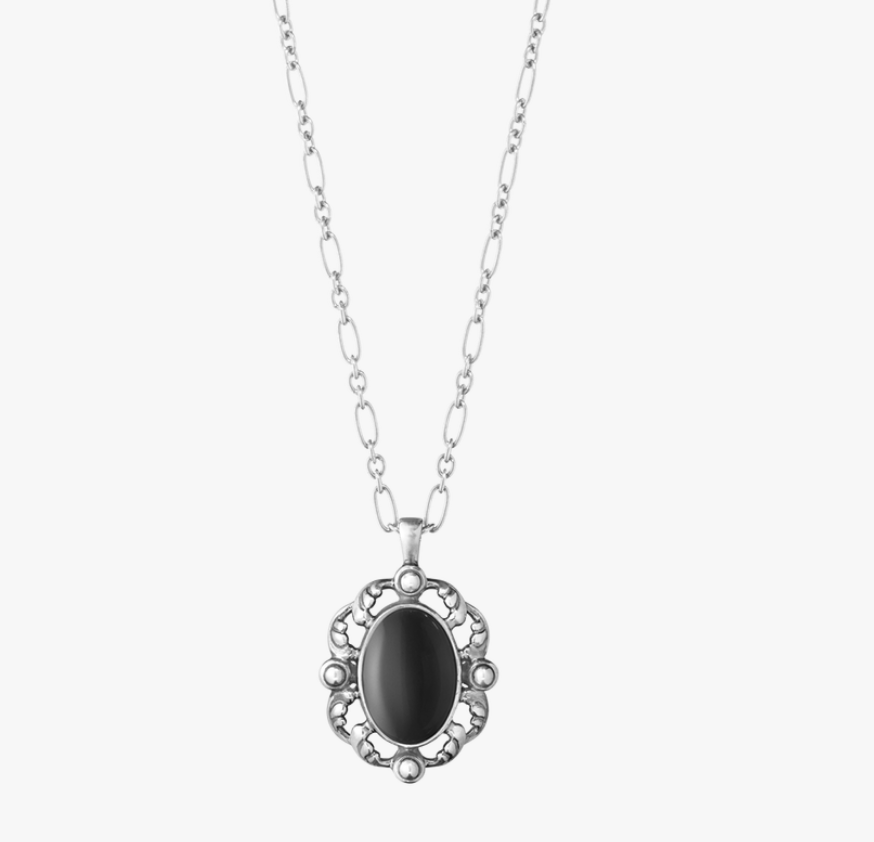 Georg Jensen Sterling argentoo argentoo argentoo Ciondolo di The Year 2018 With Onice. Heritage. d85525