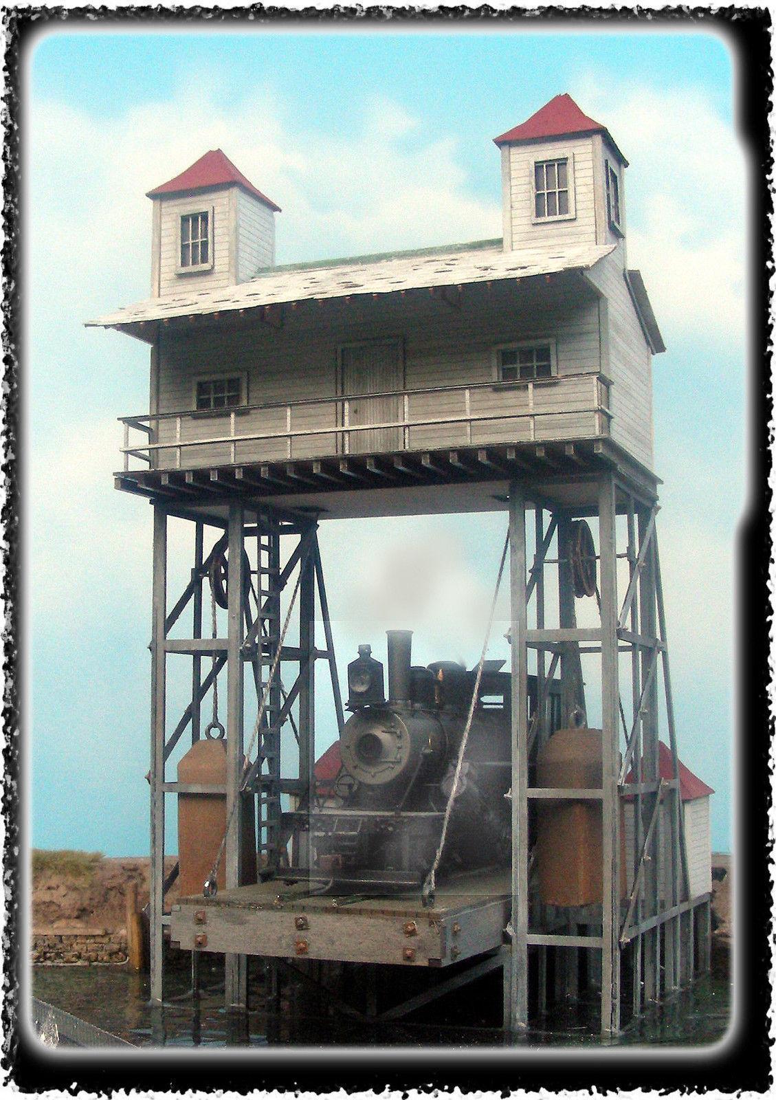 BAR MILLS BUILDINGS 162 HO Raquette Lake Navigation Co Model Railroading Kit